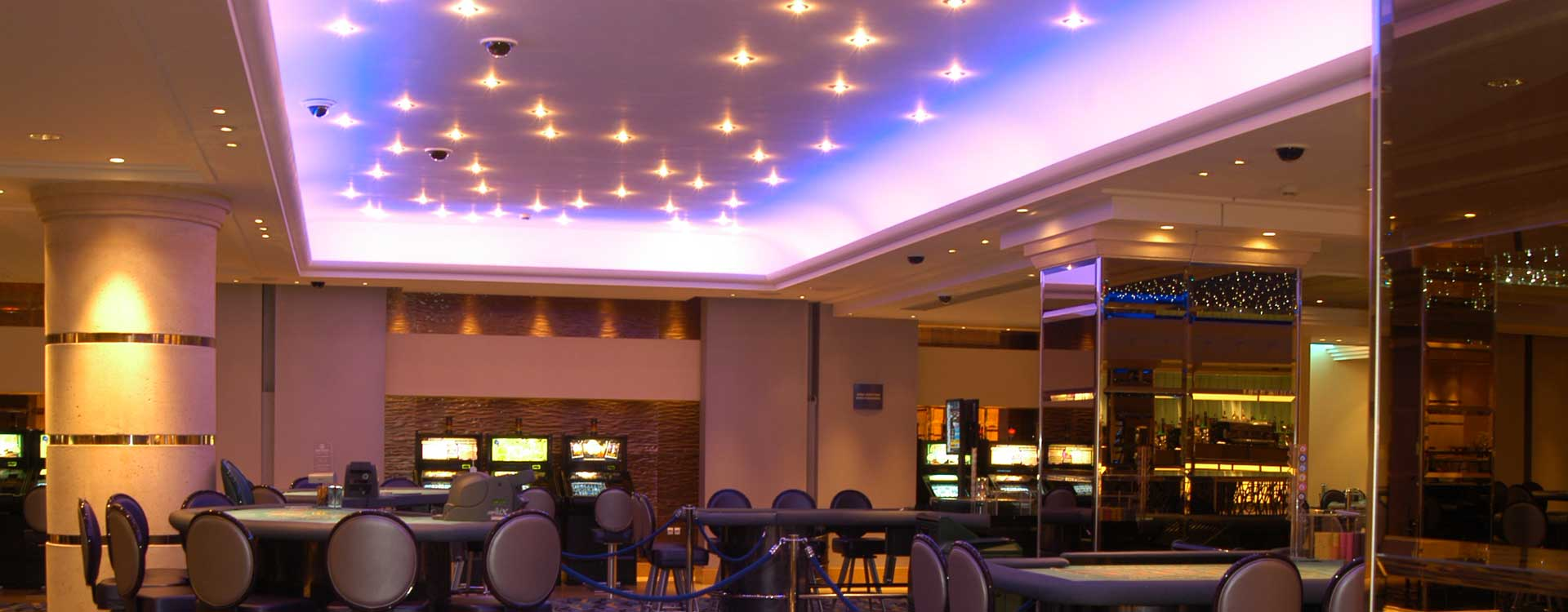 Ufo Star Effect Lighting In The Gran Casino Aljarafe