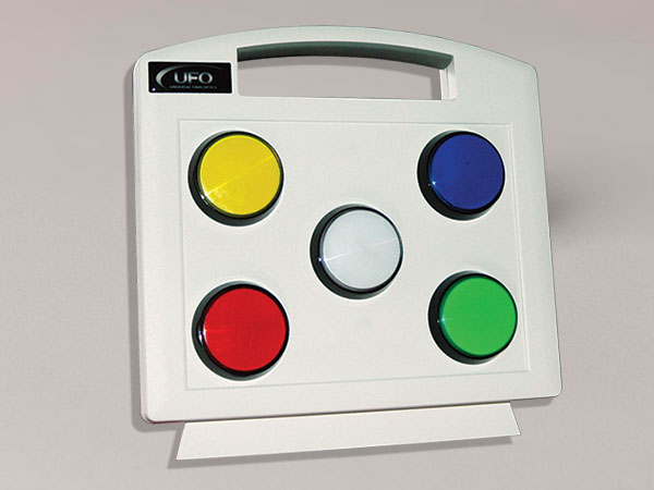 sensory color pad for led illuminators
