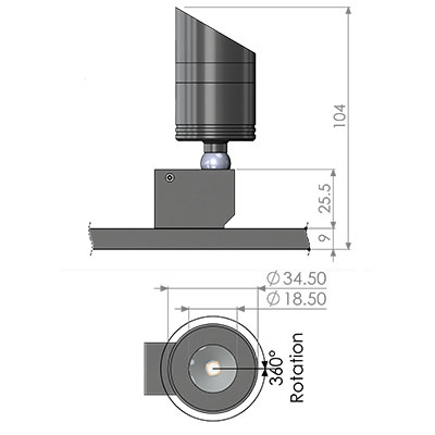 ionic LX directional fitting cad
