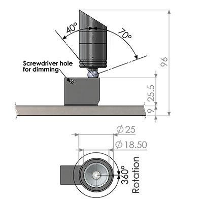 ionic MX directional fitting cad