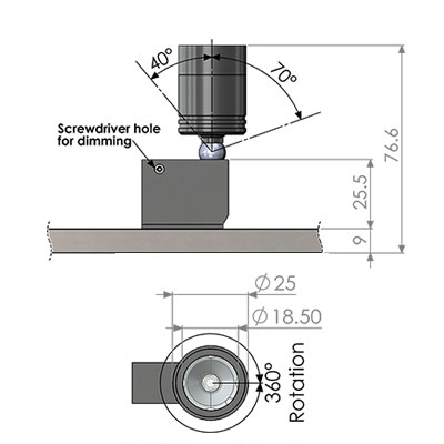 ionic MX standard fitting cad