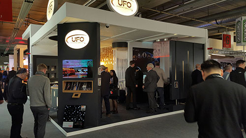 ufo show stand at light + building 2016